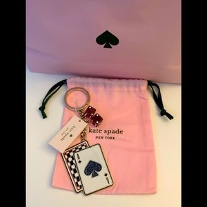 🎲 SOLD New Kate Spade Ace Dice 🎲 Keychain 🎀